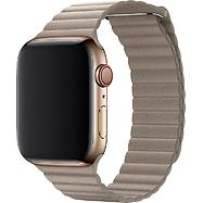 44mm Stone Leather Loop - Large, Model