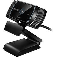 CANYON C5 1080P full HD 2.0Mega auto focus webcam with USB2.0 connector, 360 degree rotary view scope, built in MIC, IC Sunplus2281, Sensor OV2735, viewing angle 65°, cable length 2.0m, Black, 76.3x49.8x54mm, 0.106kg