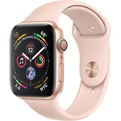 AppleWatch Series4 GPS, 40mm Gold Aluminium Case with Pink Sand Sport Band, Model A1977